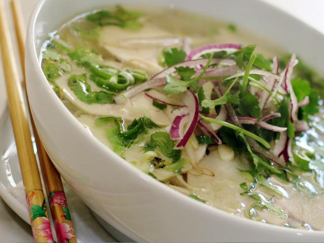 45. Noodle soup Pho with chicken