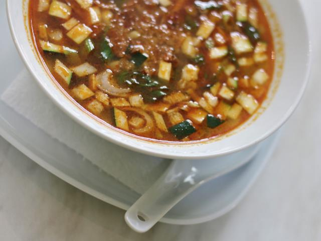 12. Beef soup with tamarind